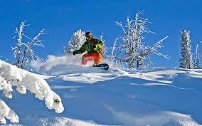 Snowboarding brundage