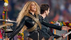 Beyonce at Superbowl